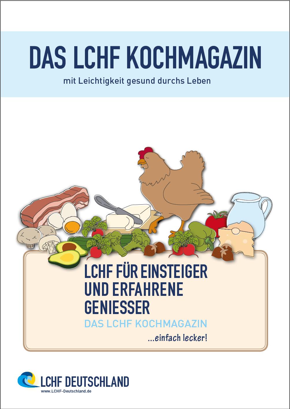 Kochmagazin - LCHF für Einsteiger und erfahrene Geniesser