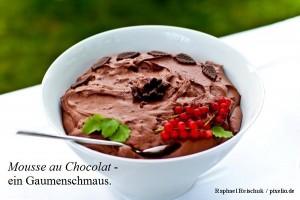 Mousse au choklad Text