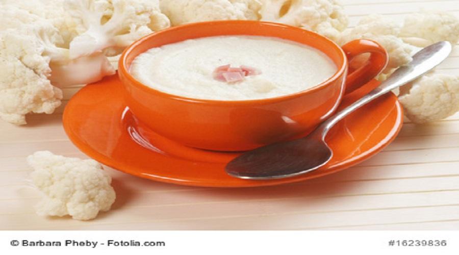 Kokos-Blumenkohlsuppe