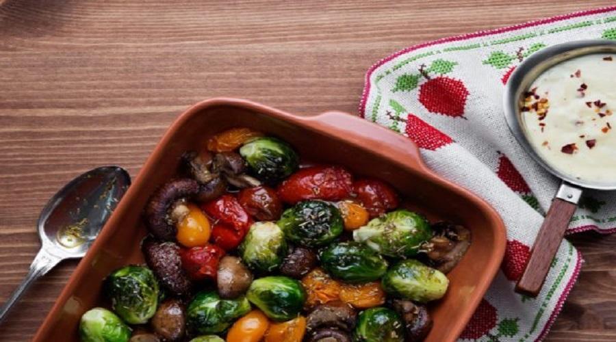 Ofengemüse aus der Low-Carb-Küche - LCHF Deutschland