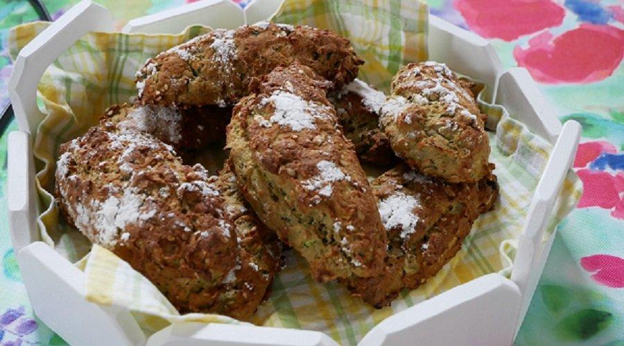 Zucchini-Baguette-Brötche