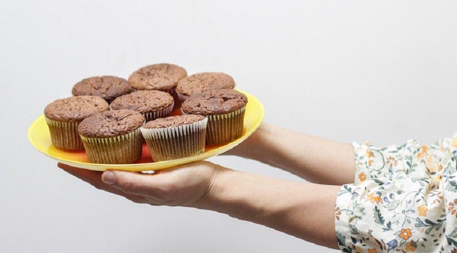 Schoko-Zimt-Muffins