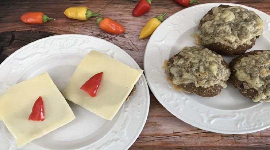 Käse-Walnuss-Brötchen