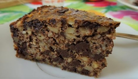 Nuss-Schokoladen-Kuchen