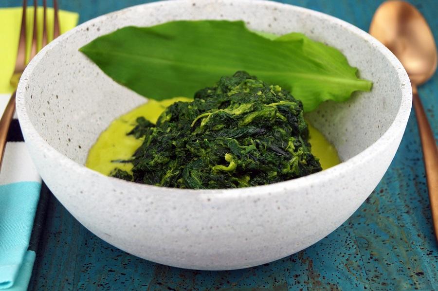 Bärlauch - Spinat - Rahmgemüse