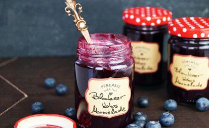 Blaubeer - Kokos - Marmelade