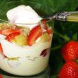 Erdbeer-Rhabarber Creme