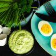 Frankfurter Grüne Sauce mit Eiern