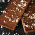 Schokoladentrüffel mit Meersalz