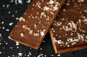 Karamell-Schokoladentrüffel mit Ursalz