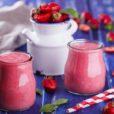 Erdbeer-Smoothie.