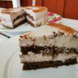 Weincreme-Torte