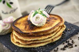 Frischkäse Pancakes