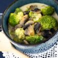 Champignon-Brokkoli-Suppe
