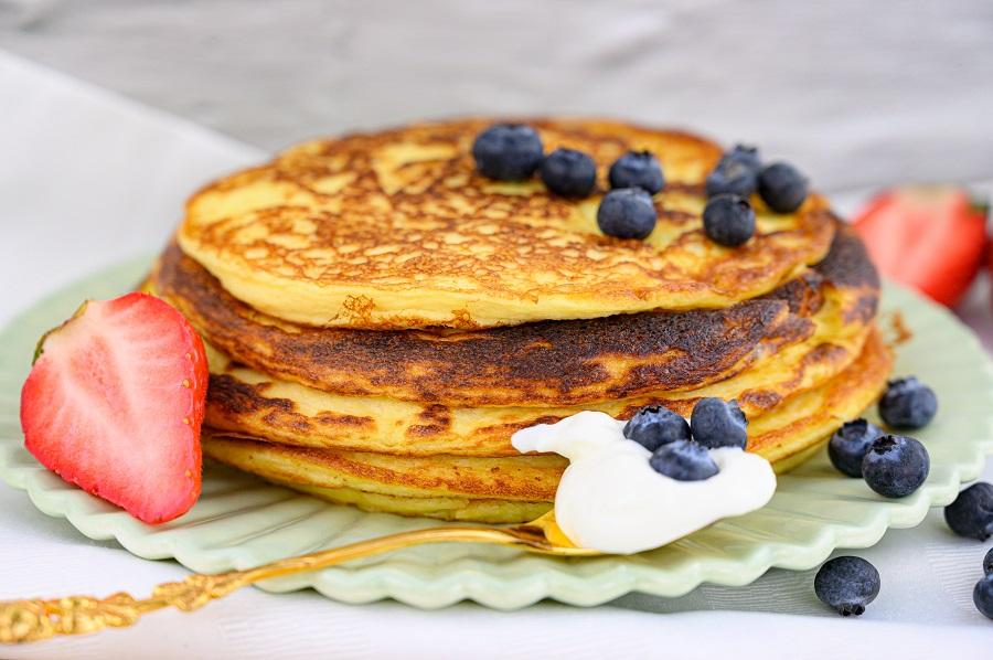 Nussfreie Pancakes