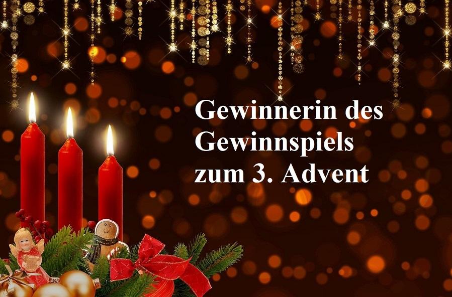 Gewinnerin 3 Advent