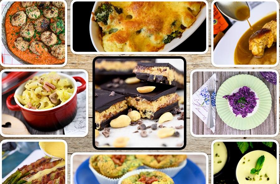 Viele neue Rezepte aus der vielseitigen LCHF-Küche