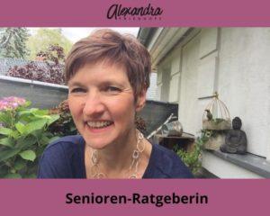Alexandra Friedhoff - die Seniorenratgeberin