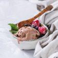 Erdnussbutter-Schokoladen-Eis