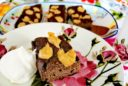 Brownies mit Erdnussbuttertopping
