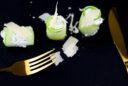 Gurken-Frischkäse-Röllchen