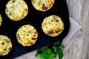 Feta-Gemüse-Muffins