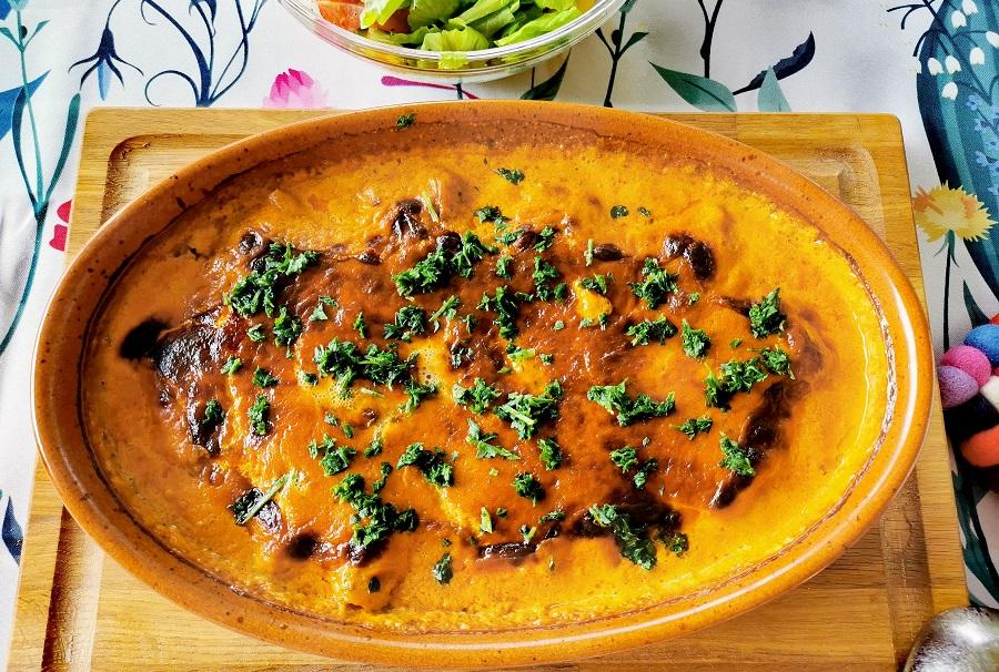 Schweinefelet in Currysauce